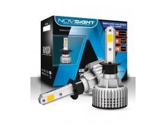 Сверх яркие светодиоды Novsight N12Y 3000k, комплект 2шт.
