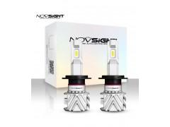 Сверх яркие светодиоды Novsight N35 6500k, комплект 2шт.
