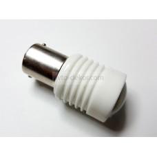 Светодиод 12-24v T25 6SMD 1 конт. белый линза керамика