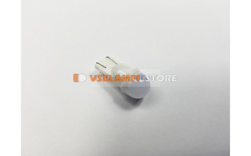 Светодиод 12vT10 1SMD 5630 б/ц белый керамика