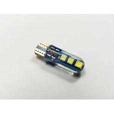 Диод 12v Т10 32мм габариты силикон белый 6 SMD