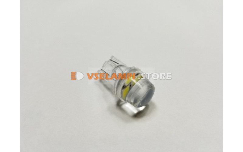 Диод 12v Т10 габариты силикон белый 3 SMD
