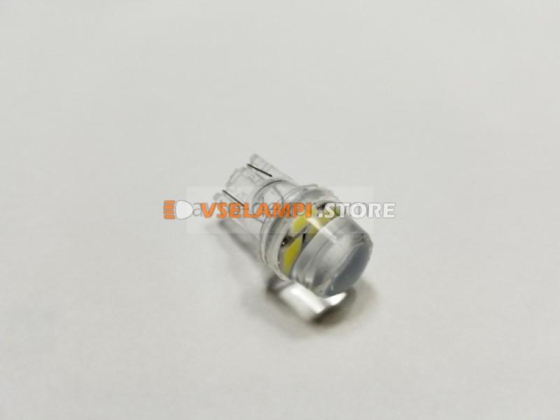 Диод 12v Т10 3 SMD силикон, белый