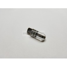 Диод 12v Т10 32мм габариты силикон белый 6 COB