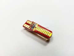 Диод 12v Т10 24 SMD силикон 32мм белый