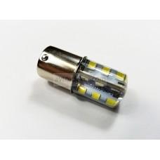 Светодиод 12vT25 24SMD 1 конт. белый силикон