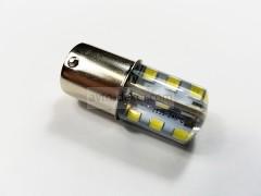 Светодиод 12vT25 24SMD 2835 1 конт. белый силикон