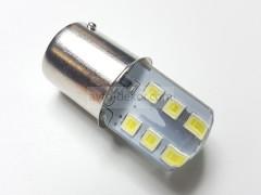Светодиод 12vT25/5 12SMD 2835 2-x. конт. белый