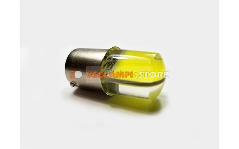 Светодиод 12vT25 24 COB 1 конт. белый силикон