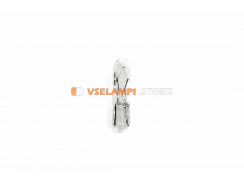 Авто-лампочка PROsvet 24v W1.2W, T5, W2x4.6d (микрушка)