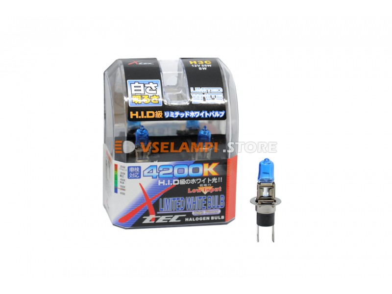 Галогенные лампы AHL - SuperWhite комплект 2шт. - цоколь H16