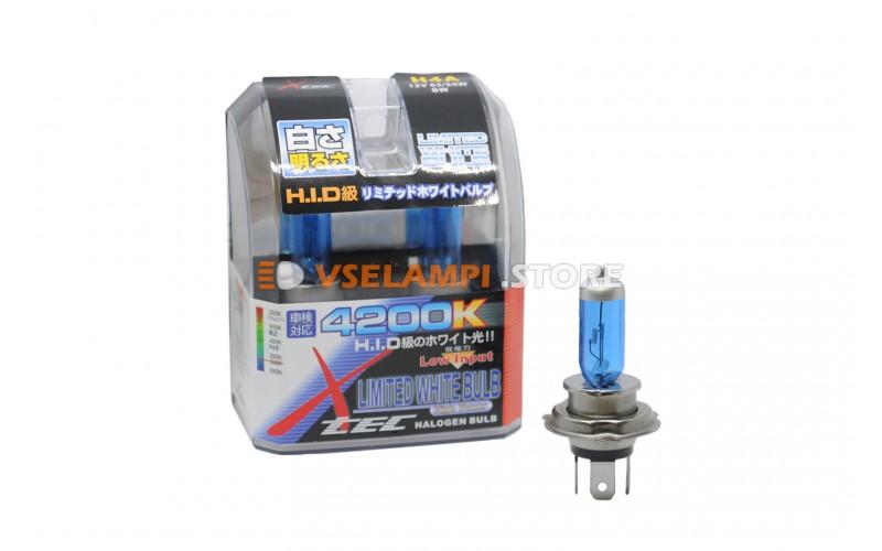 Галогенные лампы AHL - SuperWhite комплект 2шт. - цоколь H4B