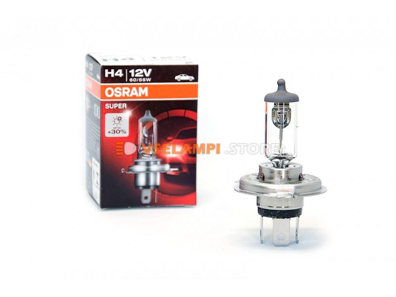 Галогенная лампа OSRAM SUPER +30% света - цоколь H3