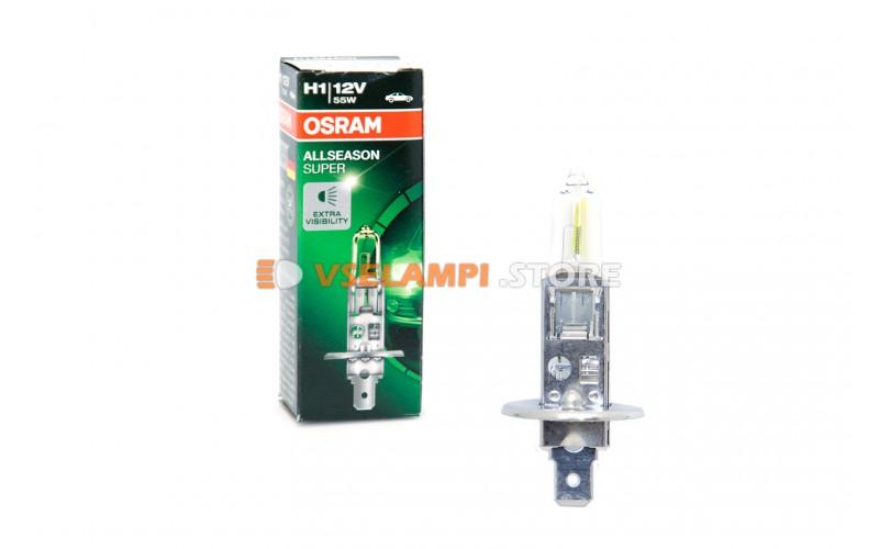 Галогенная лампа OSRAM ALLSEASON SUPER +30%