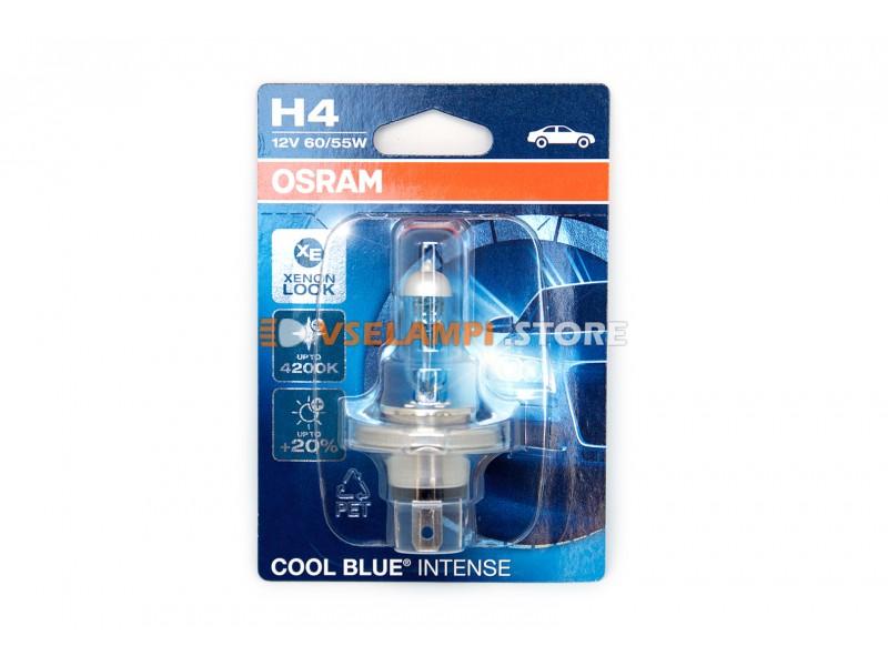 Галогенные лампы OSRAM COOL BLUE INTENSE блистер 1шт. - цоколь H3