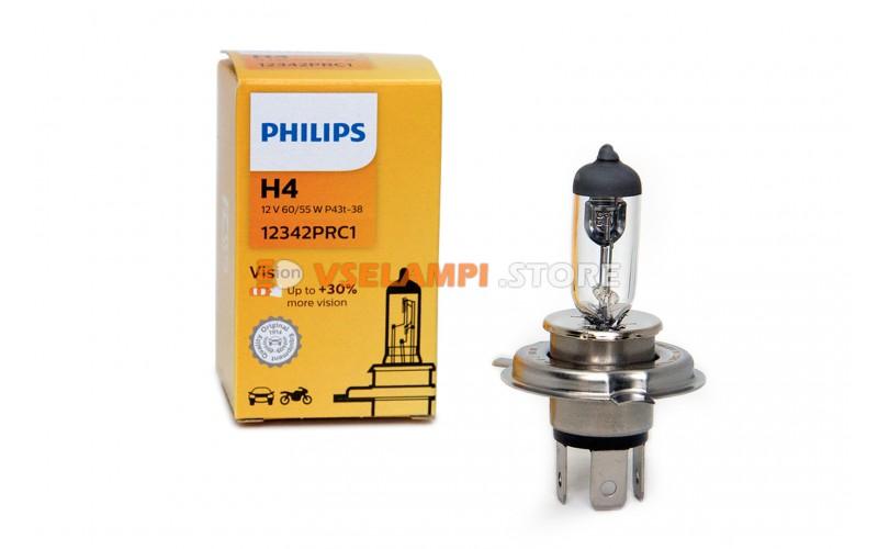 Галогенная лампа PHILIPS - Premium - цоколь H4