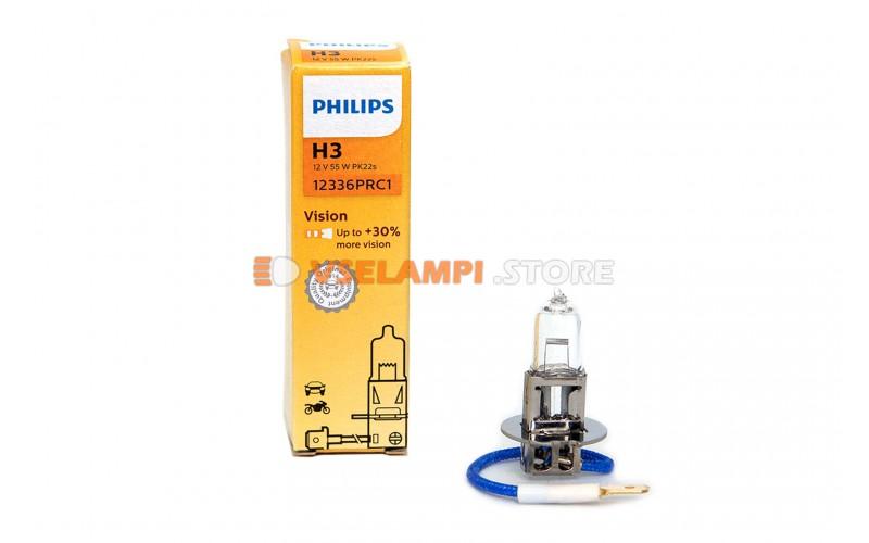 Галогенная лампа PHILIPS - Premium - цоколь H3