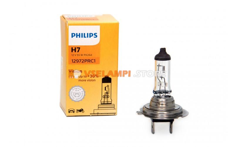 Галогенная лампа PHILIPS - Premium - цоколь H7