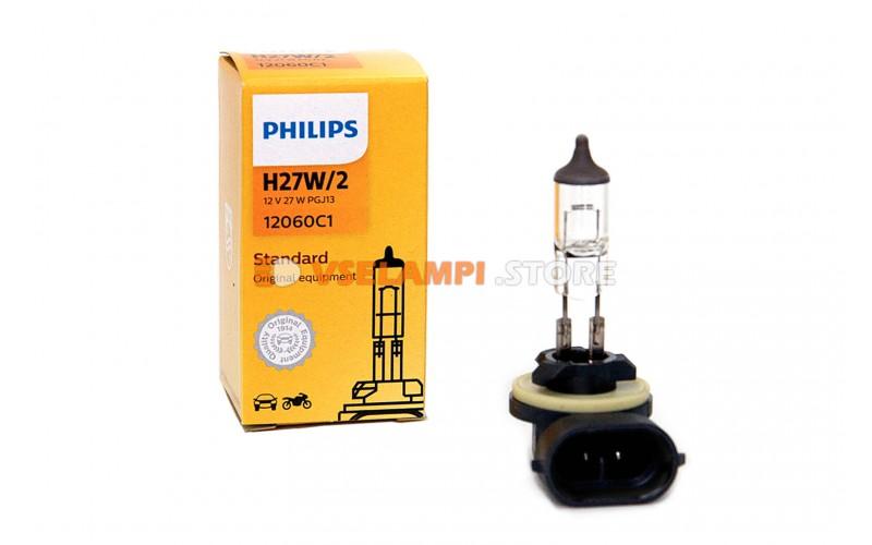 Галогенная лампа PHILIPS - Premium - цоколь H27/2