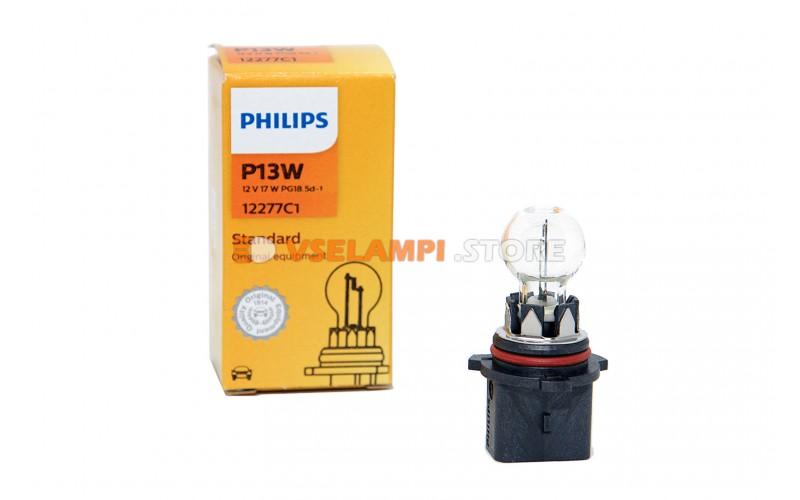 Галогенная лампа PHILIPS - Premium - цоколь P13W