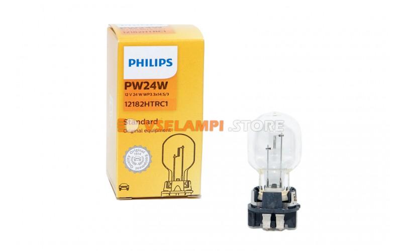 Галогенная лампа PHILIPS - Premium - цоколь PW24W