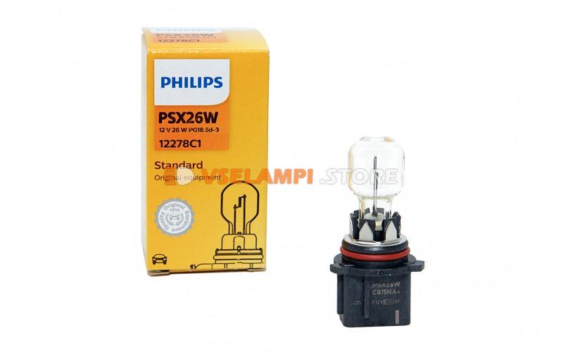 Галогенная лампа PHILIPS - Premium - цоколь PSX26W