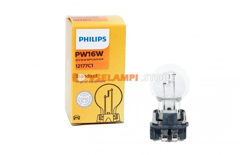 Галогенная лампа PHILIPS - Premium - цоколь PW16W
