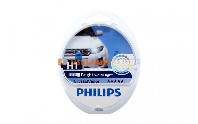 Галогенные лампы Philips Cristal Vision комплект 2шт.
