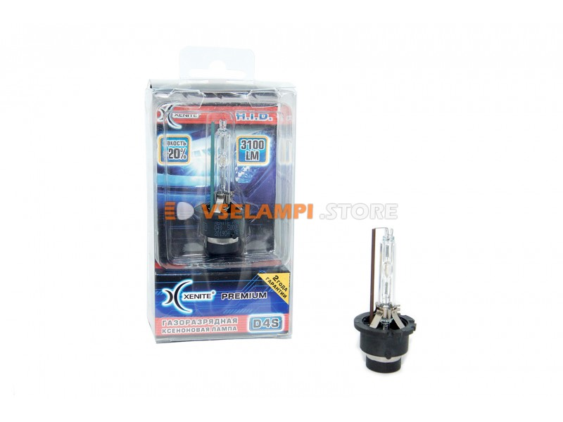 Ксеноновая лампа XENITE PREMIUM 5000К 1шт. - цоколь D2R