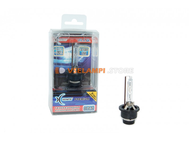 Ксеноновая лампа XENITE PREMIUM 6000К 1 шт. - цоколь D2S