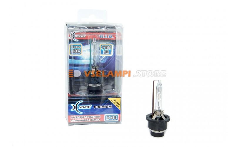 Ксеноновая лампа XENITE PREMIUM 4300K 1 шт. - цоколь D4S