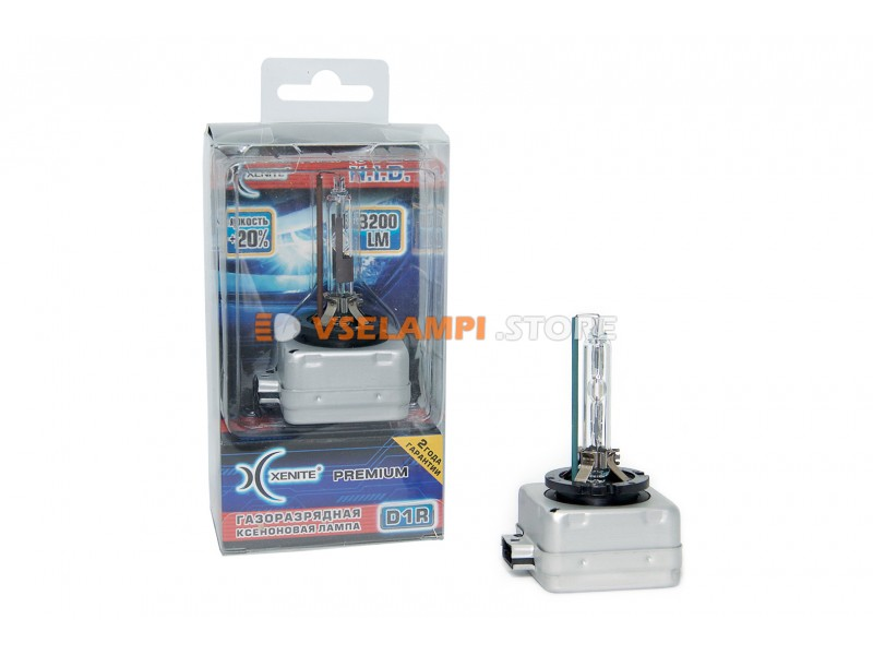 Ксеноновая лампа XENITE PREMIUM 4300K 1 шт. - цоколь D1S