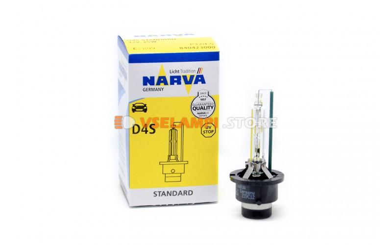 Ксеноновая лампа NARVA Original - цоколь D4S