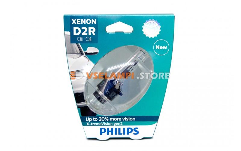 Ксеноновая лампа PHILIPS X-tremeVision gen2 +150% - цоколь D2R