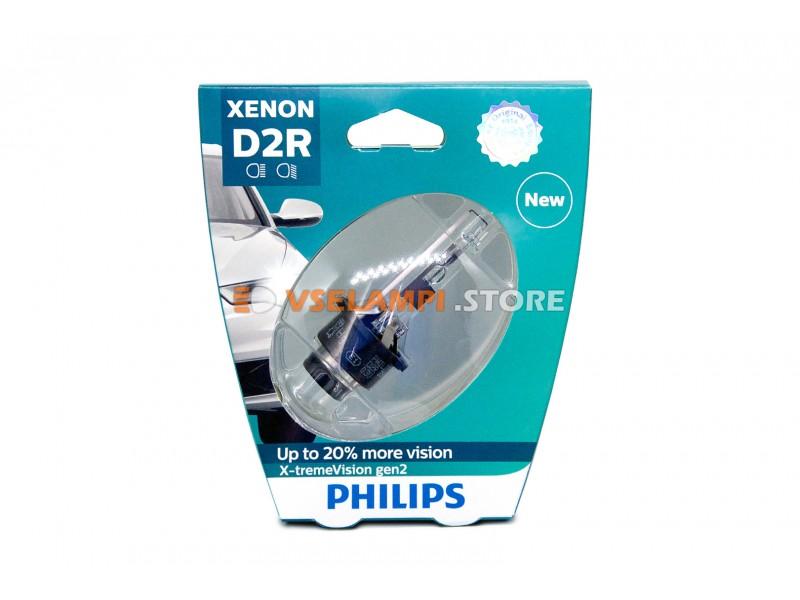 Ксеноновая лампа PHILIPS X-tremeVision gen2 +150% - цоколь D4S