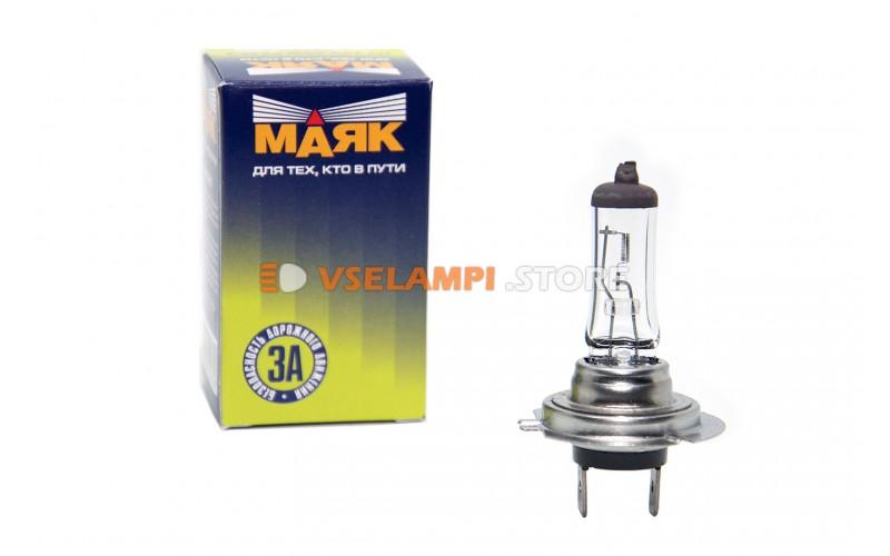 Галогенная лампа Маяк Standart - цоколь H7 100