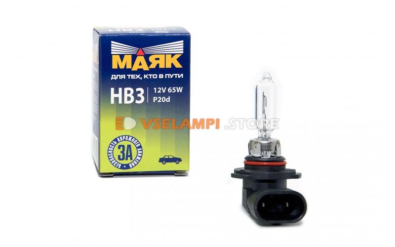 Галогенная лампа Маяк Standart - цоколь HB3