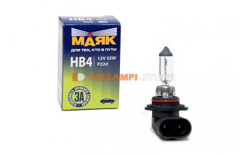 Галогенная лампа Маяк Standart - цоколь HB4