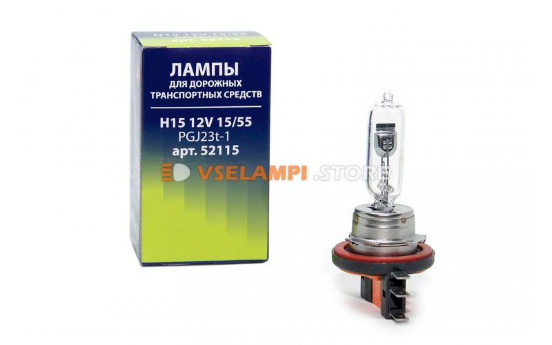 Галогенная лампа Маяк Standart - цоколь H15