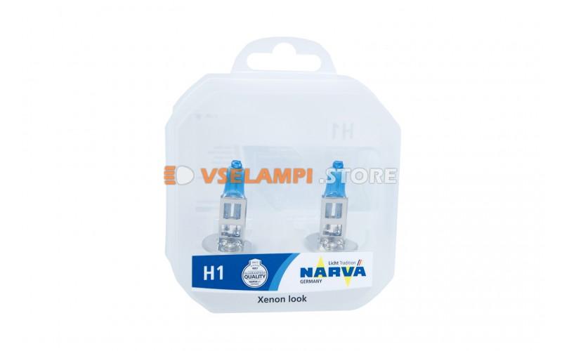 Галогенные лампы Narva - Range Power White комплект 2шт. - цоколь H1 85