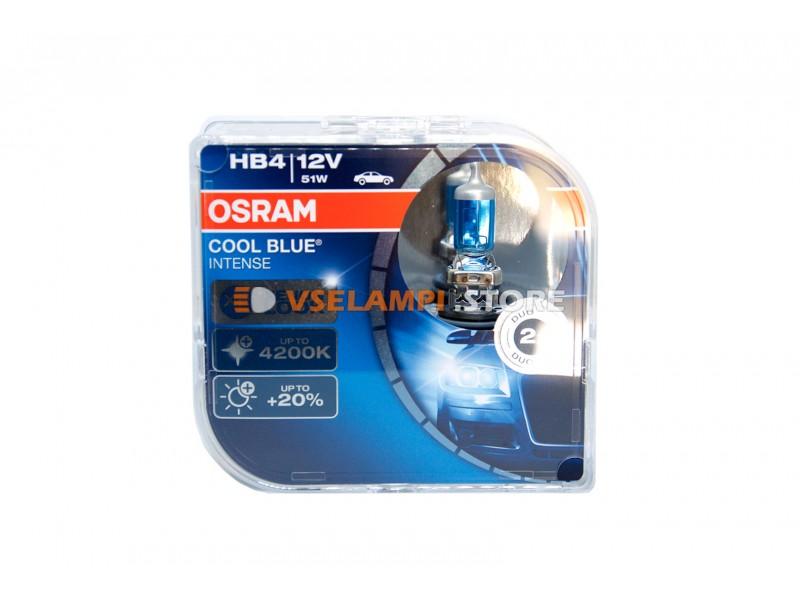 Галогенные лампы OSRAM COOL BLUE INTENSE EURO BOX комплект 2шт. - цоколь HB3
