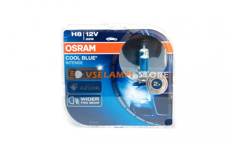 Галогенные лампы OSRAM COOL BLUE INTENSE EURO BOX комплект 2шт. - цоколь H8