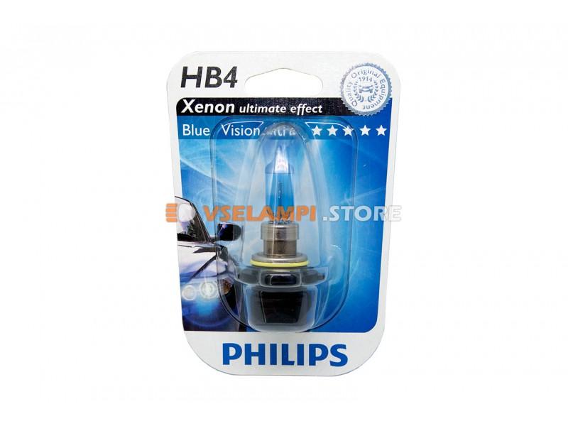 Галогенные лампы PHILIPS Blue Vision 1шт. - цоколь HB4