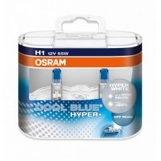 Галогенные лампы OSRAM COOL BLUE HYPER - EURO BOX комплект 2шт. (ЛАМПЫ СНЯТЫ С ПРОИЗВОДСТВА)