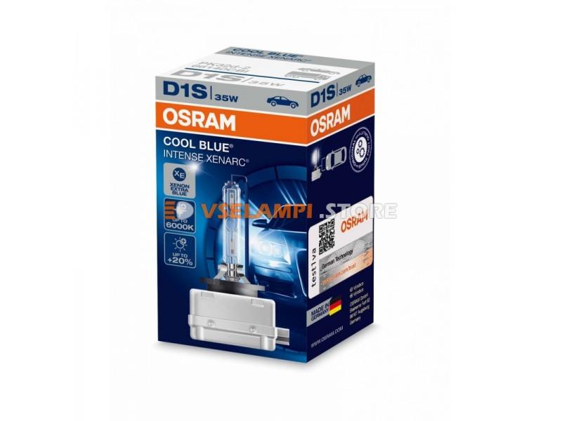Ксеноновая лампа OSRAM XENARC COOL BLUE INTENSE - цоколь D1S