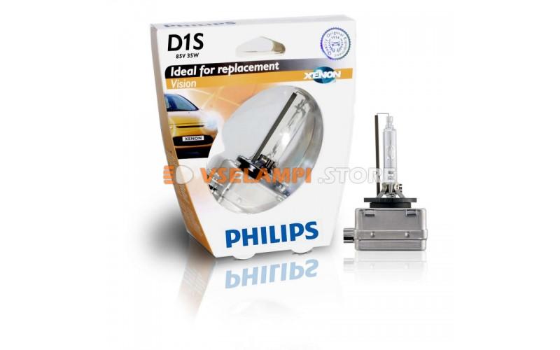 Ксеноновая лампа PHILIPS Xenon Vision - цоколь D1S