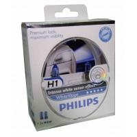 Галогенные лампы Philips White Vision комплект 2шт