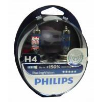 Галогенные лампы PHILIPS Racing Vision комплект 2шт.