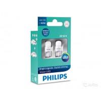 Светодиод PHILIPS W5W 12v 1w (W2,1x9,5d) LED 6000K 12791 6000KX2