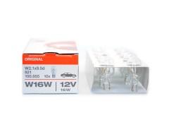 Авто-лампочка OSRAM W16W 12v галоген. 921